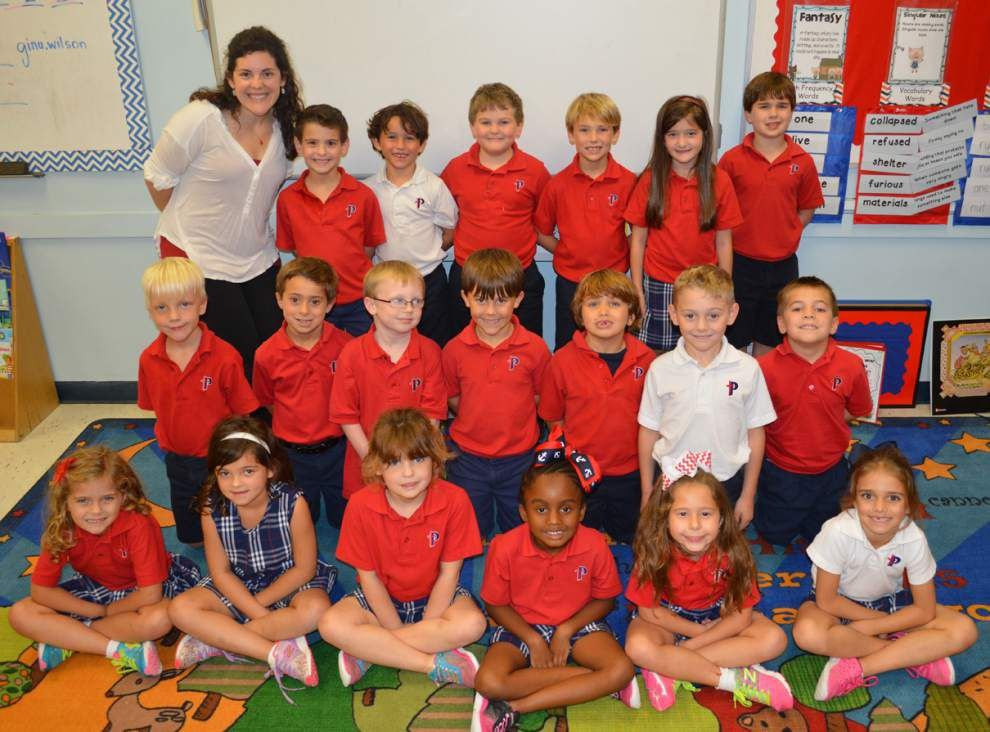 Classroom Spotlight: Parkview Baptist School first grade _lowres