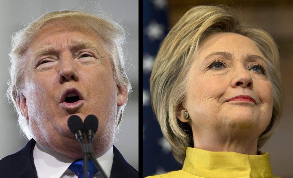 Poll: Donald Trump has double-digit lead over Hillary Clinton in Louisiana _lowres