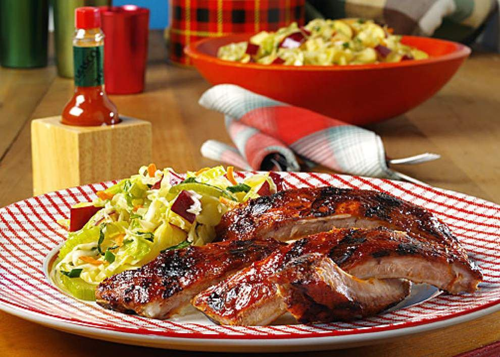 Sweet & Smoky Baby Back Ribs _lowres