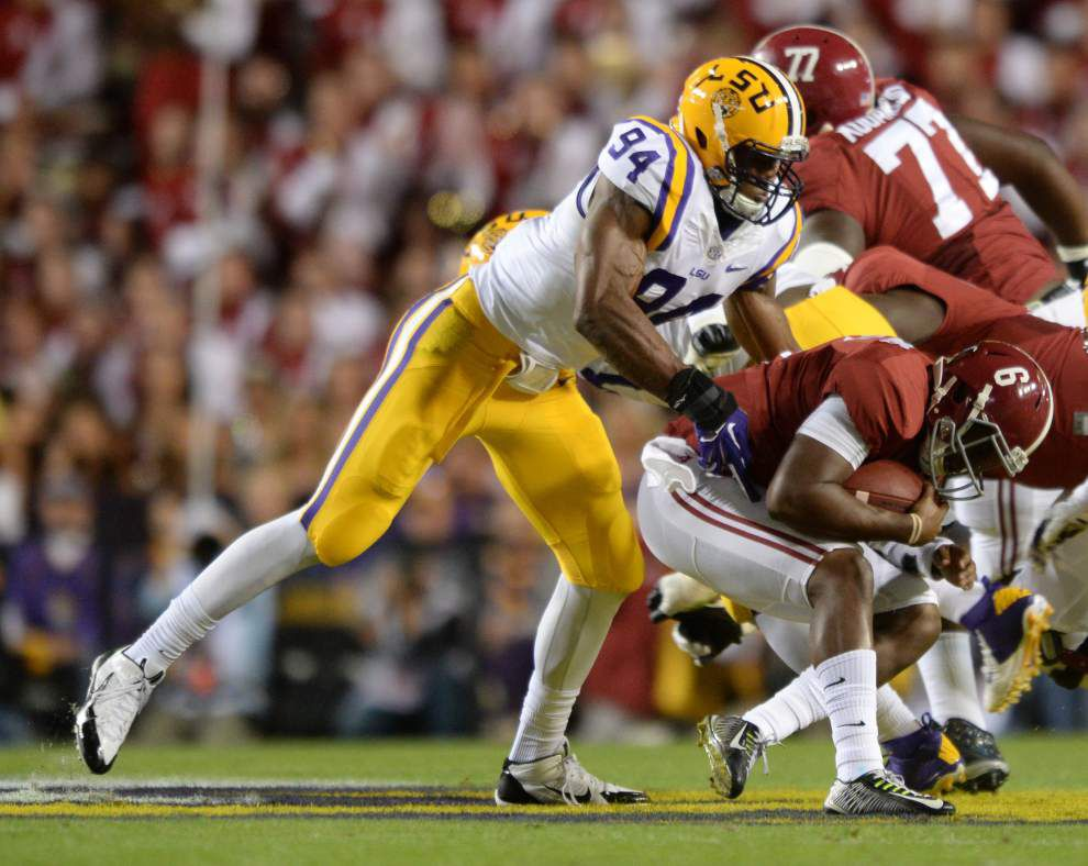 Sorting through LSU's candidates to leave early for the NFL draft _lowres