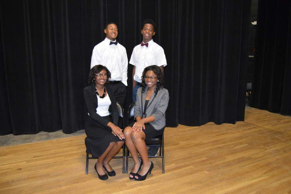 St. Helena Academy announces 2014 homecoming court _lowres