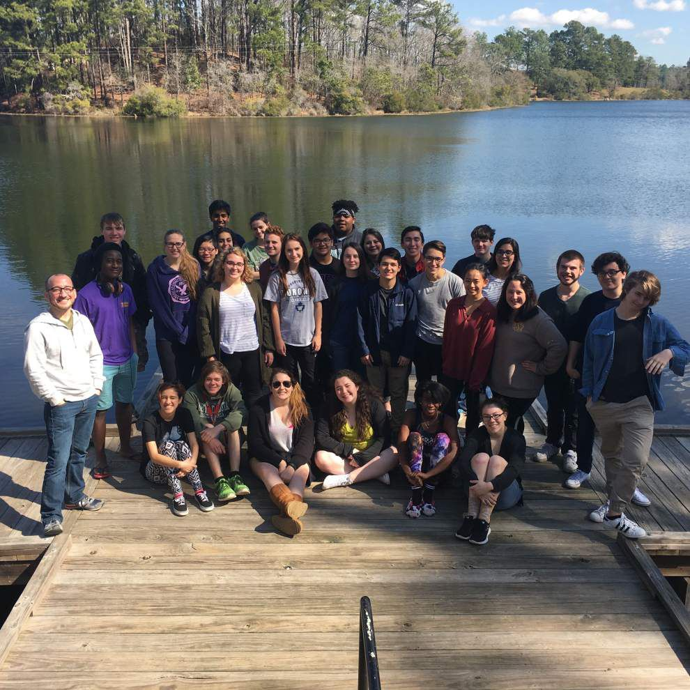 LSMSA students take leadership outing to park _lowres