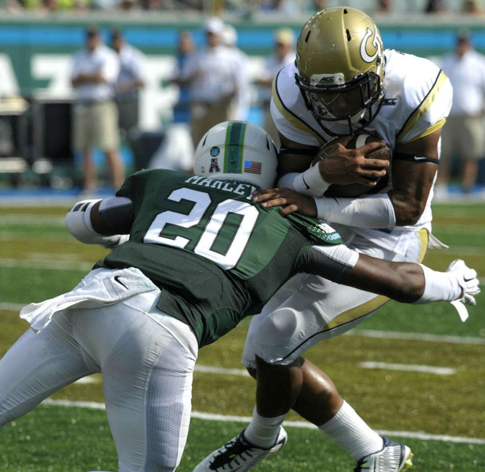 Tulane defense no match for Georgia Tech ground game _lowres