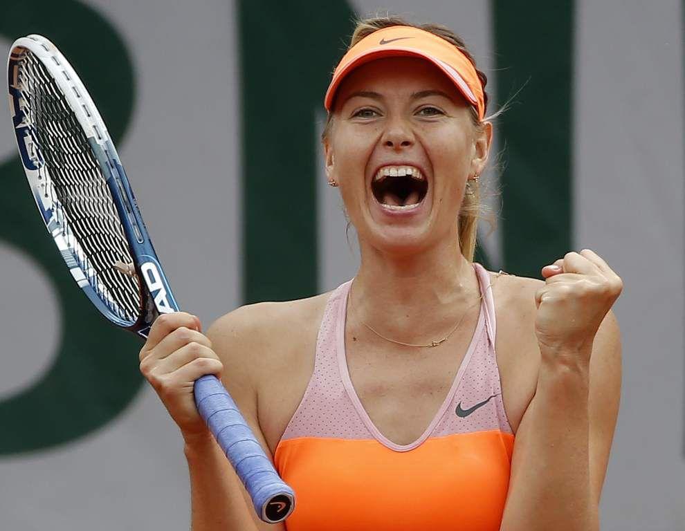 Maria Sharapova reaches French Open semifinals _lowres