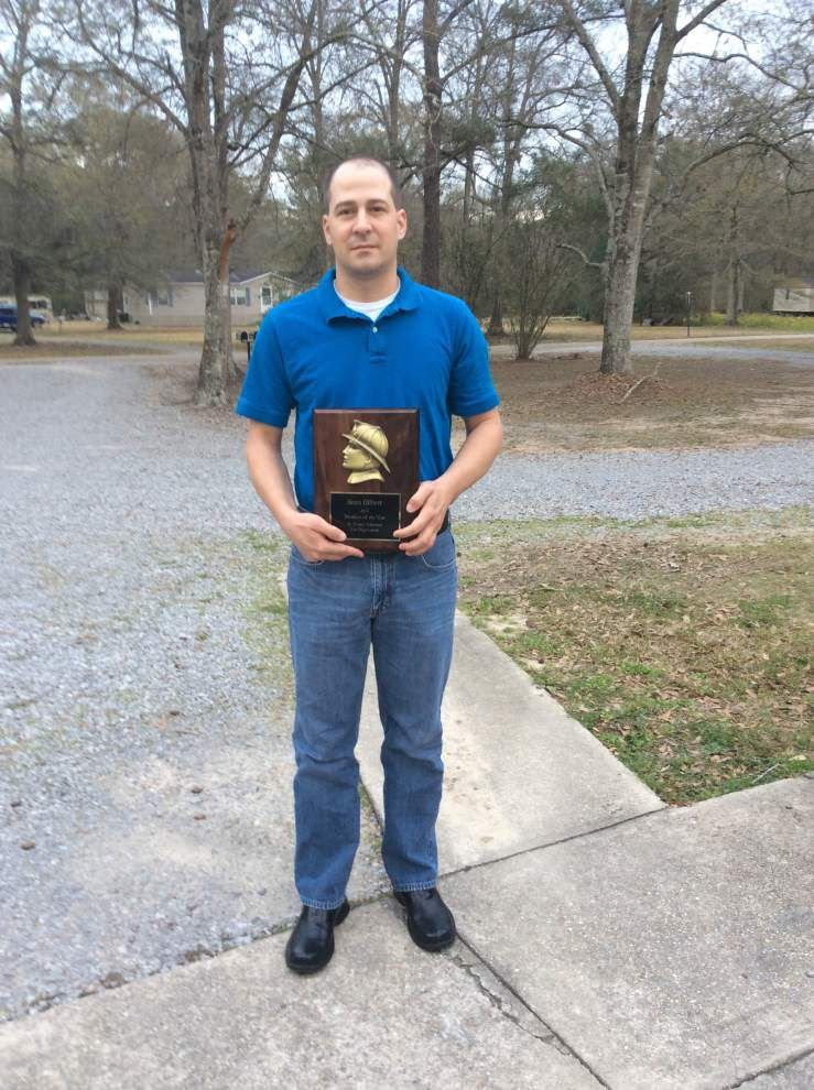 St. Amant Fire Department names firefighter of month _lowres