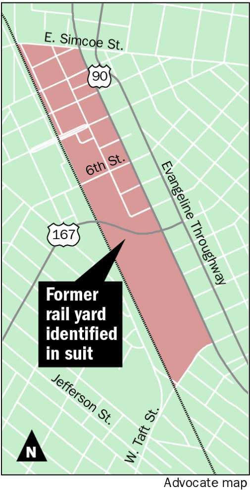 Landowners sue to get Lafayette railroad yard cleaned up, concerned about contamination of aquifer _lowres