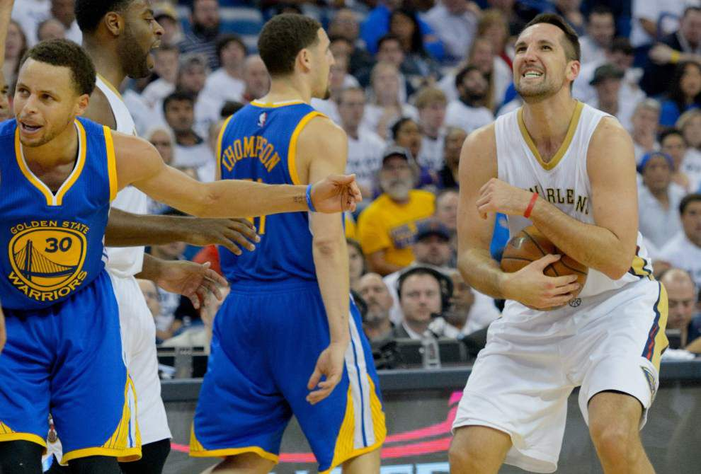 Sources: Pelicans to meet Warriors on NBA's opening night _lowres