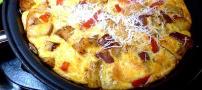 Cheesy Frittata