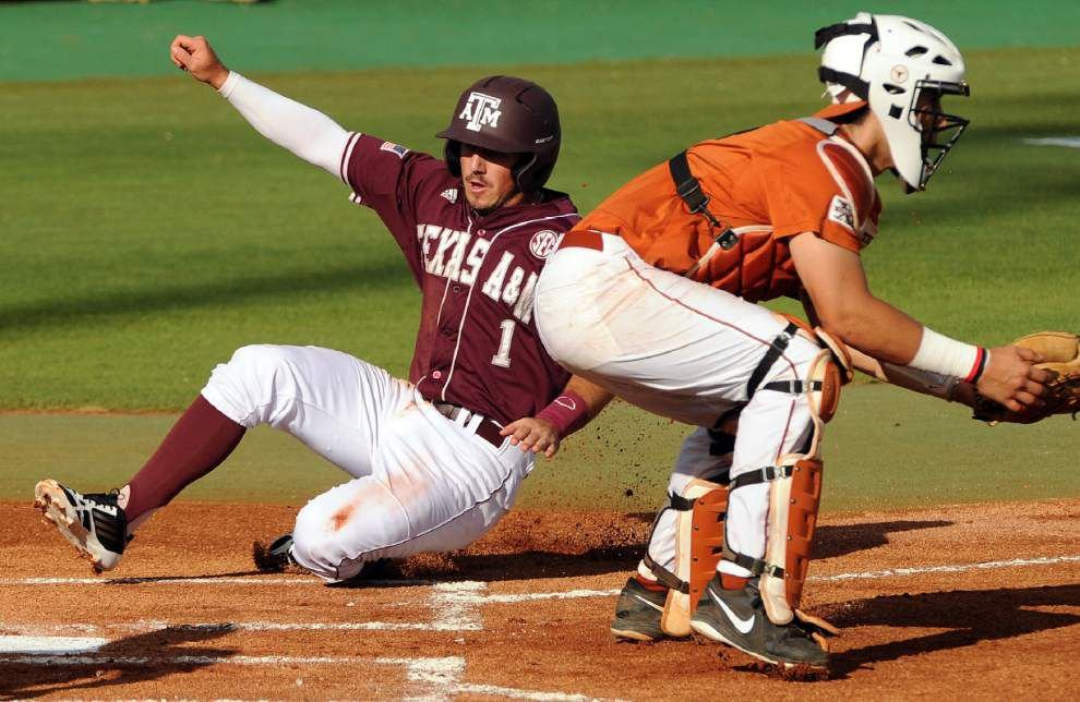 Longhorns piece together 4-1 win over Aggies _lowres