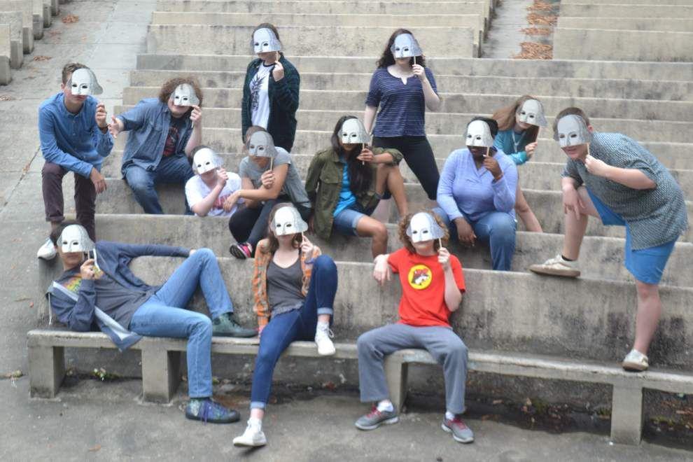 Put on masks, 'Talk Like Shakespeare' _lowres