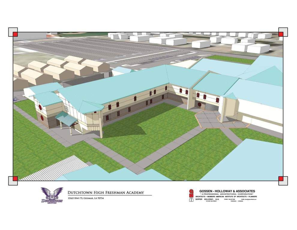 Separate Freshman Academy buildings on tap for three Ascension Parish high schools _lowres
