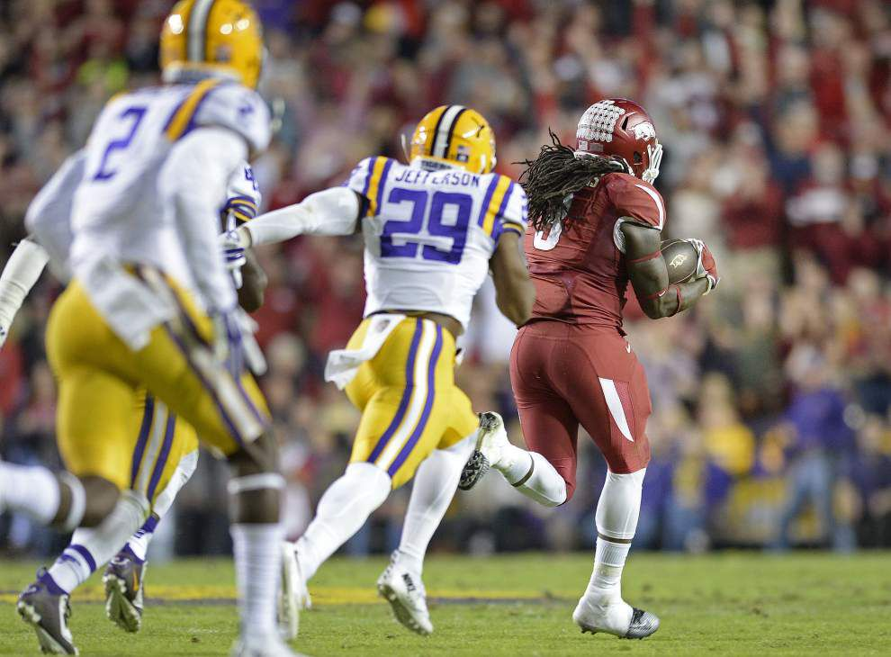 Going long: How LSU opponents are rolling up long returns, lengthy passes _lowres