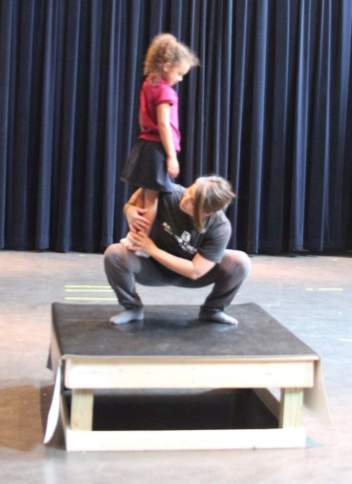 Ten tiny dances: Dancer to squeeze act onto 4-by-4 foot stage _lowres