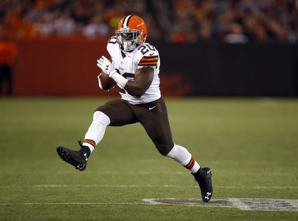 Browns' Terrance West will be focus, again, for Saints _lowres