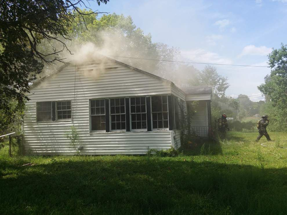 Baton Rouge Fire Department: Arson cause of Clayton Street house fire _lowres