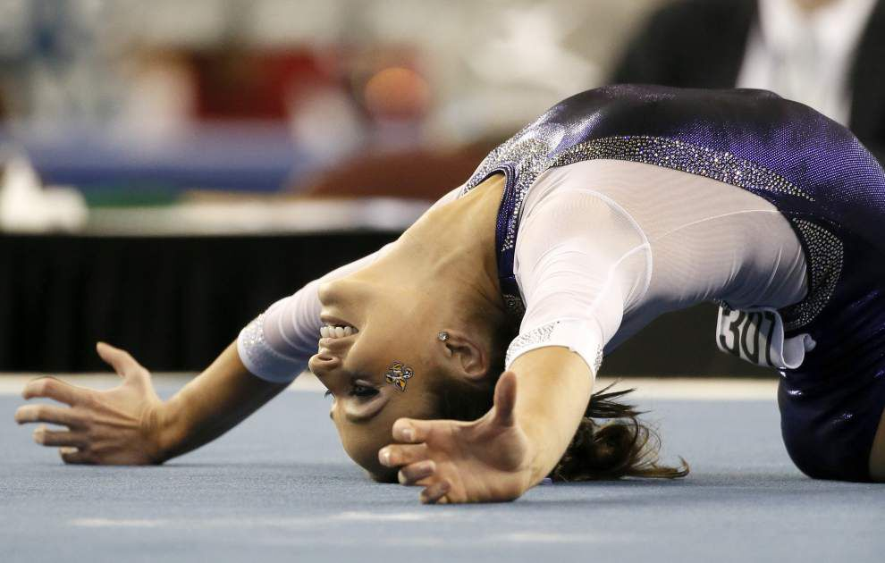 NCAA gymnastics notebook: LSU will have several competitors in Sunday's individual finals _lowres