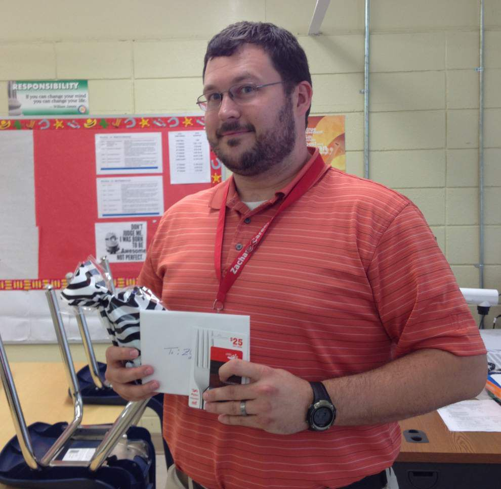 Concienne named teacher of year at Career Center _lowres