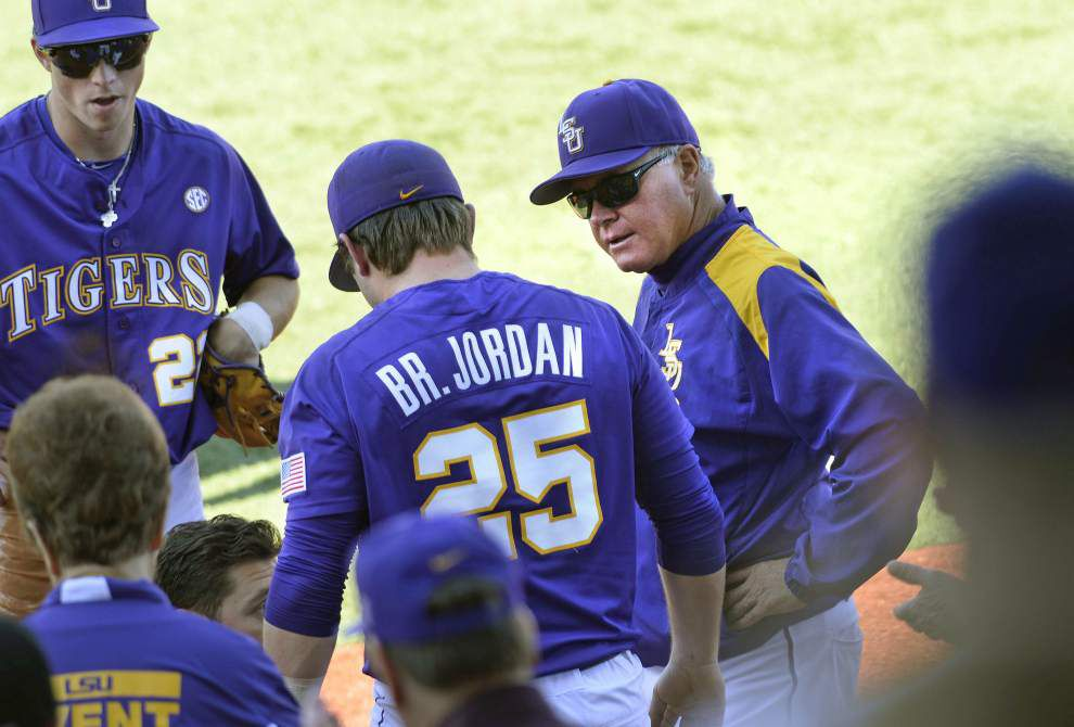 LSU strikes quickly in early 15-1 rout of Fordham, but Alex Lange struggles in a doubleheader sweep _lowres