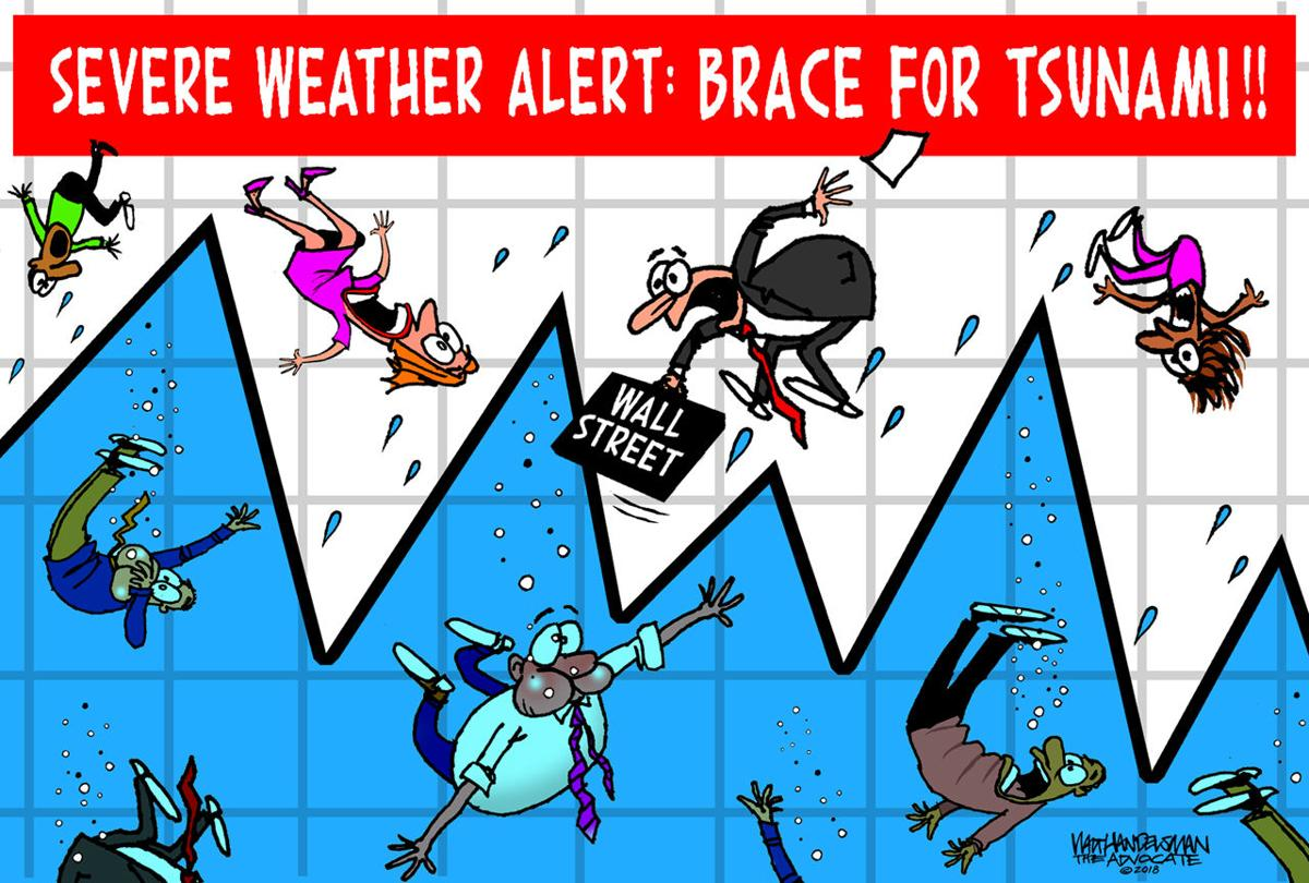 Walt Handelsman: Tsunami Warning!