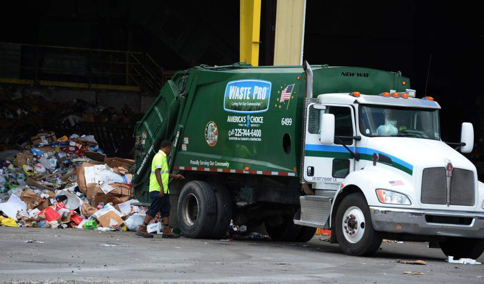 Baton Rouge officials rethinking glass recycling identify part of the problem: People aren't always good at sorting _lowres