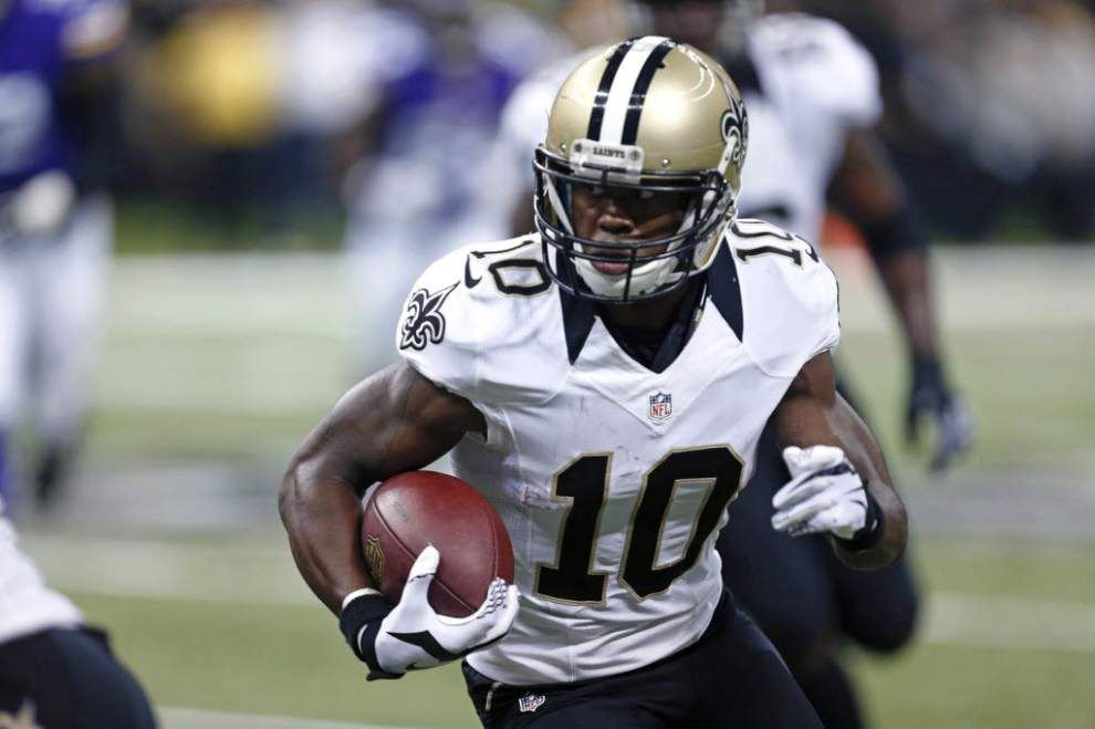 Saints receiver Brandin Cooks out 4-6 weeks after surgery on fractured thumb _lowres