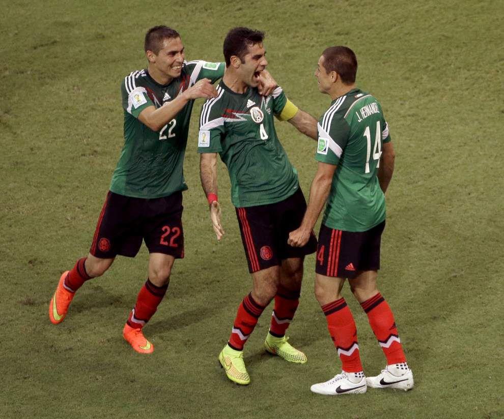 Rafael Marquez comes through to lead Mexico past Croatia _lowres