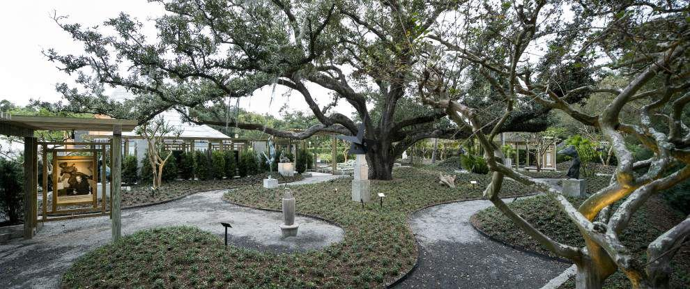 New visitor center, sculpture garden among latest upgrades to City Park _lowres