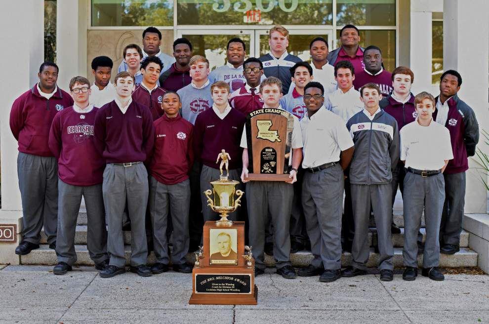 De La Salle wrestlers win divisional championship _lowres