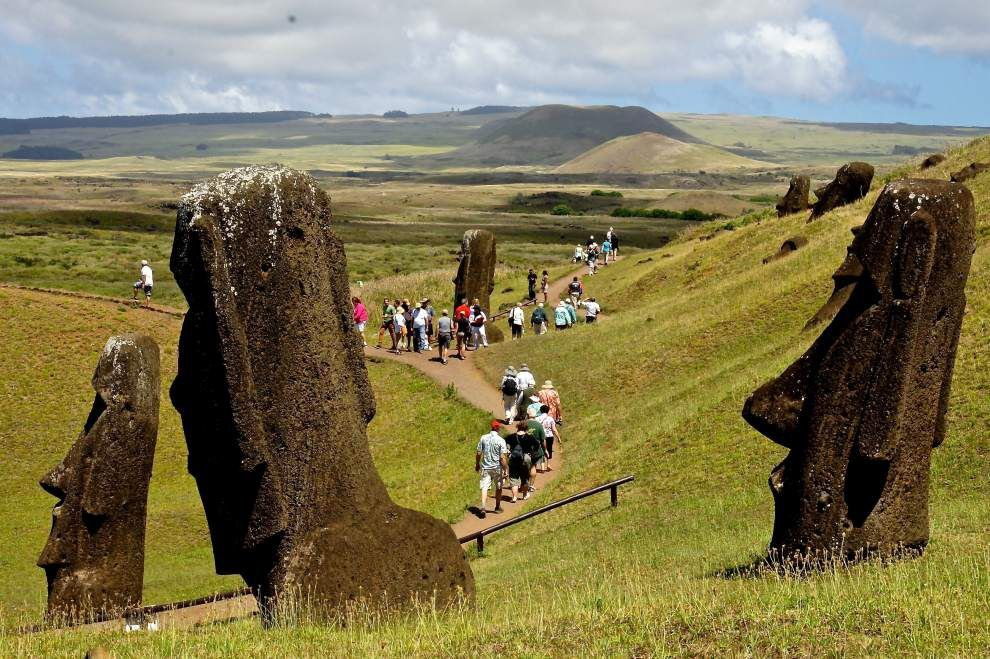 Cruise ship takes New Orleanians to mysterious, remote Easter Island in Chile _lowres