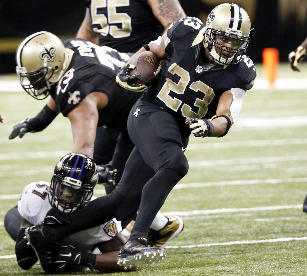 Saints serve it up for Pierre Thomas' ICAN Foundation _lowres