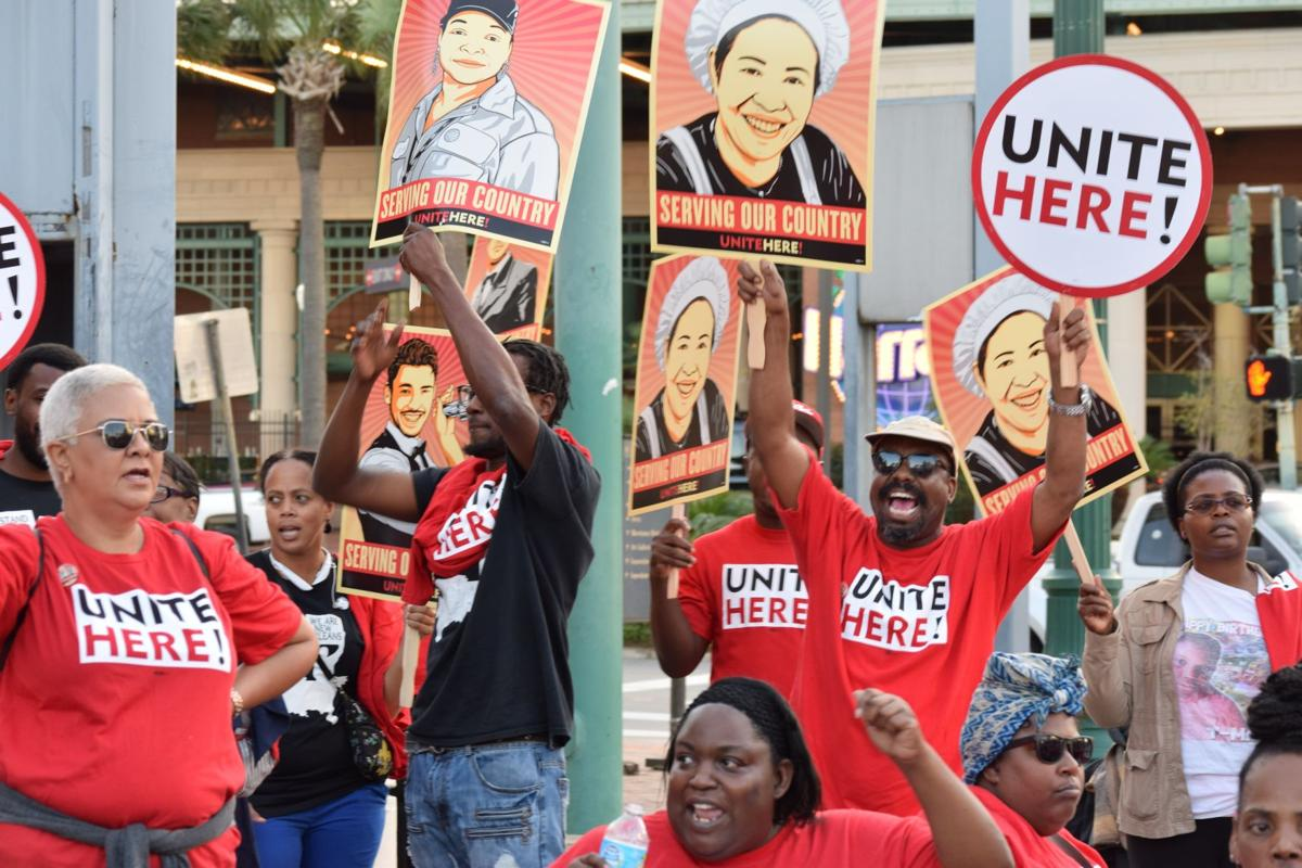 At union rally, a glimpse of an organized New Orleans hospitality industry_lowres