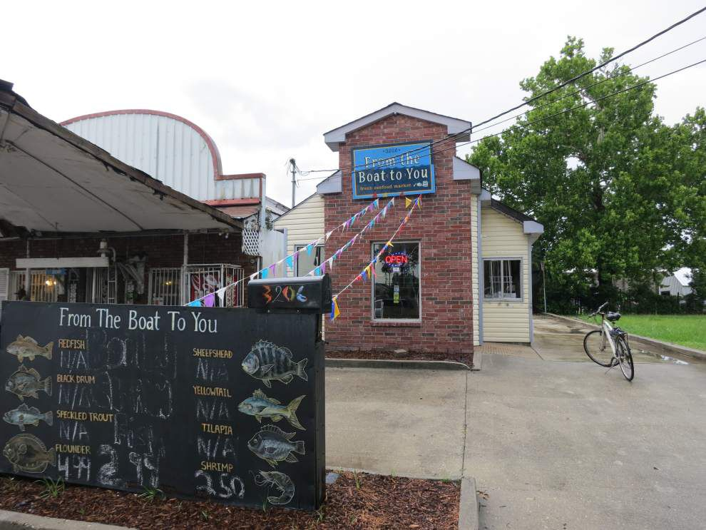 Ian McNulty: This homegrown Hollygrove fishmonger may be starting small, but he's been reeling them in _lowres