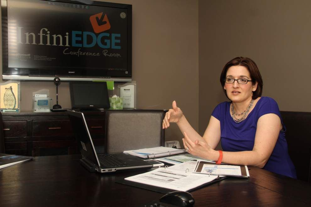 Cutting 'InfiniEdge' Technology: La. company custom designs software for clients _lowres
