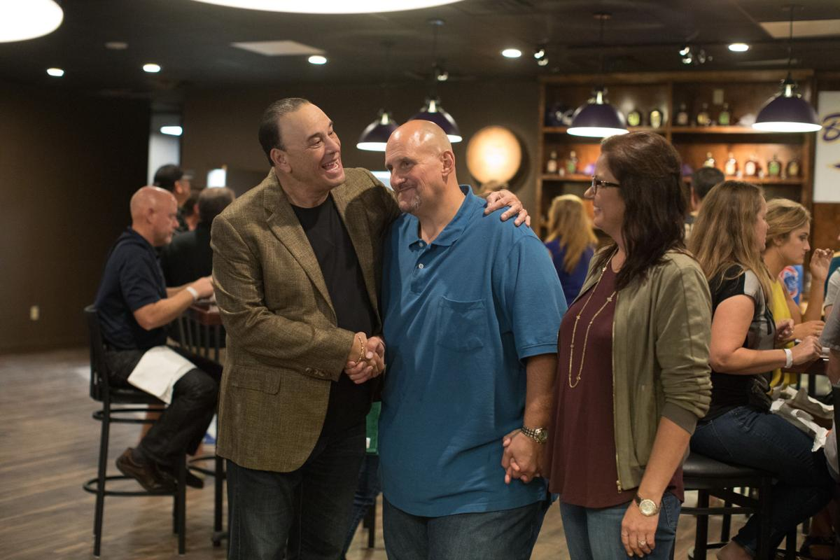 Big mikes in denham springs got help from bar rescues jon taffer contributed photo from spike tvbryan tarnowski bar rescue host jon taffer left congratulates mike and jocelyn oneal during reveal night at their forumfinder Image collections