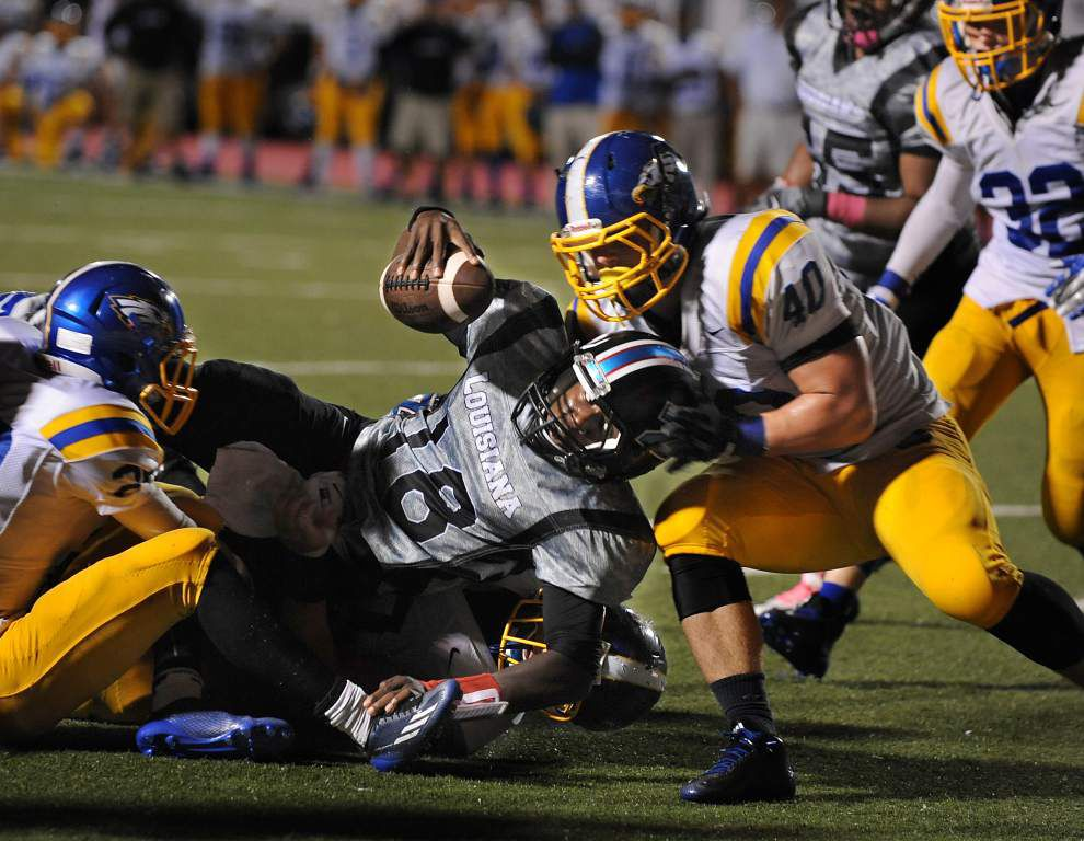 District 4-5A unbeatens Denham Springs, Zachary tangle Friday night _lowres