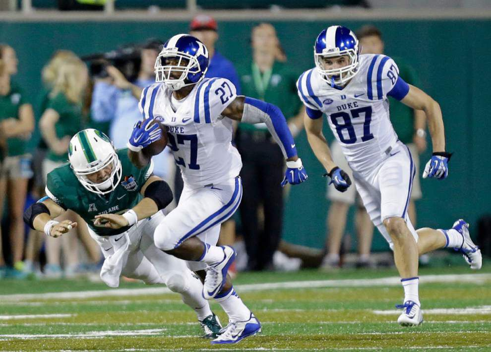 Tulane special teams joined sputtering offense against Duke _lowres