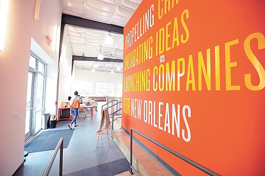 Co-working office space takes off in New Orleans_lowres