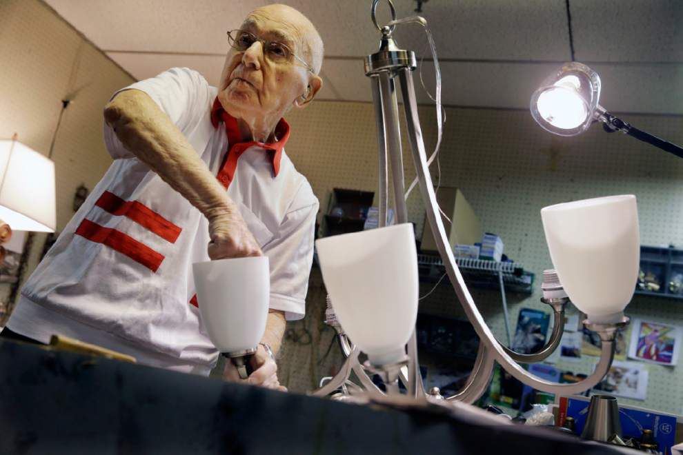 His 101st birthday present? Another day at work _lowres