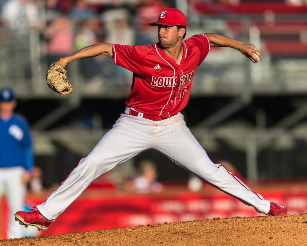 Ragin' Cajuns' Gunner Leger outduels Southeastern's Kyle Cedotal in 4-1 win _lowres
