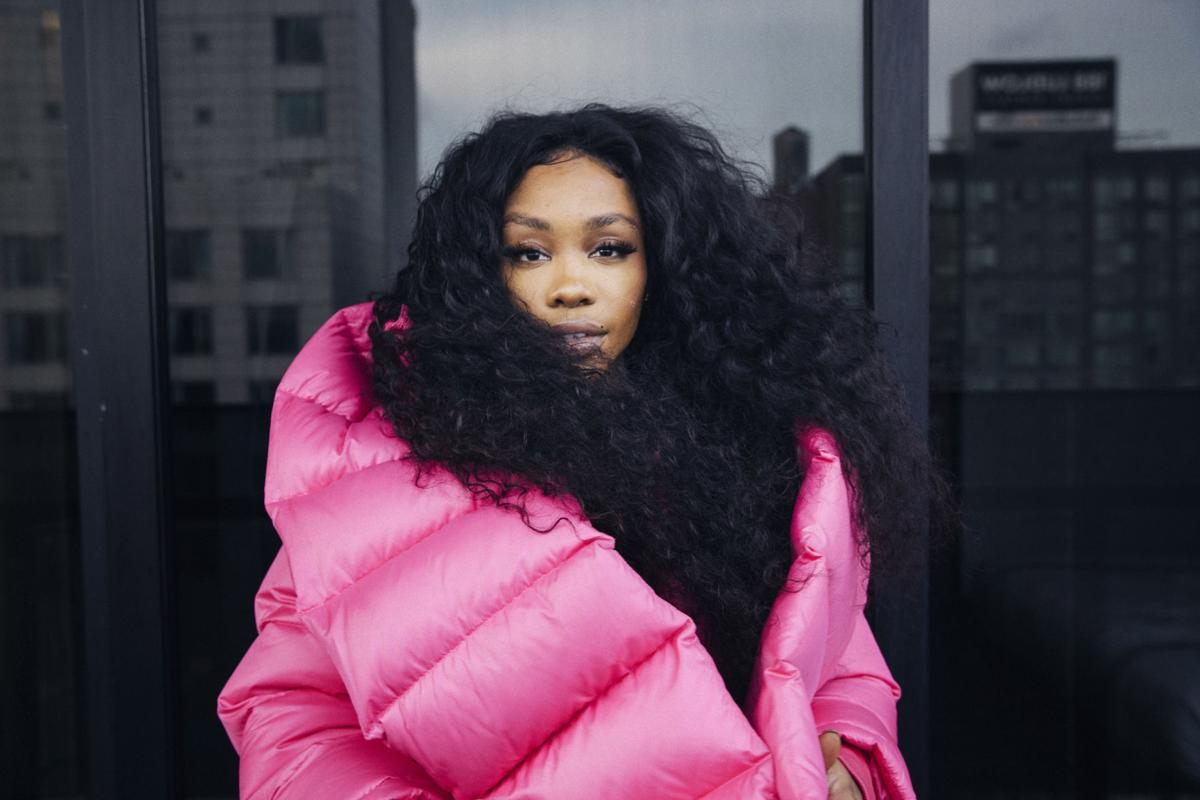 SZA Portrait Session copy for Red