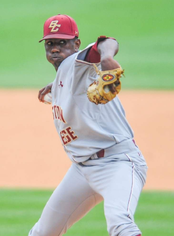 Walker: Boston College pitcher Justin Dunn shows why he's a first-round talent _lowres