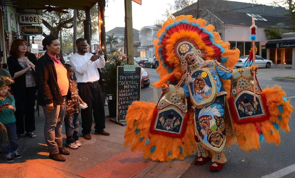 Decade after St. Joseph's Day incident, relations between police and Mardi Gras Indians much improved _lowres