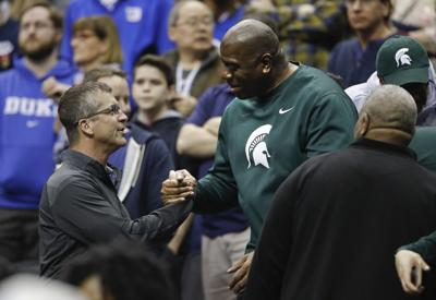 NCAA Michigan St Duke Basketball
