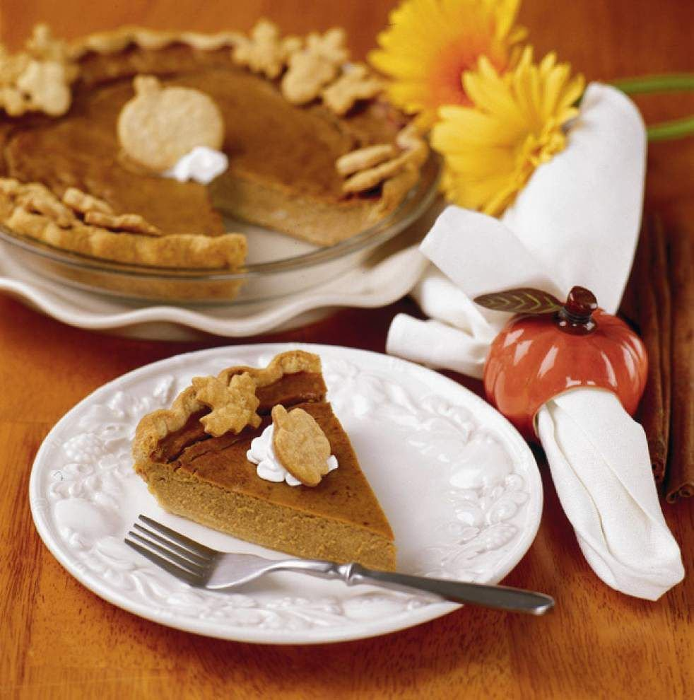 Gourmet Galley: Pumpkin pie: Go traditional or try coconut twist _lowres