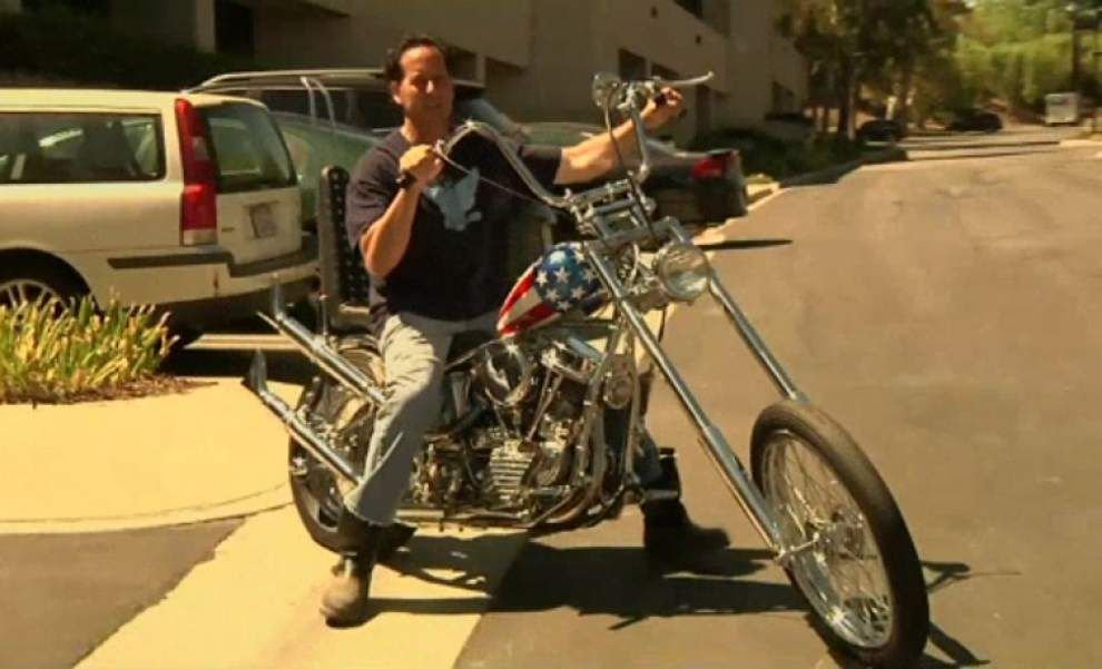 Bike from 'Easy Rider' going on auction block _lowres