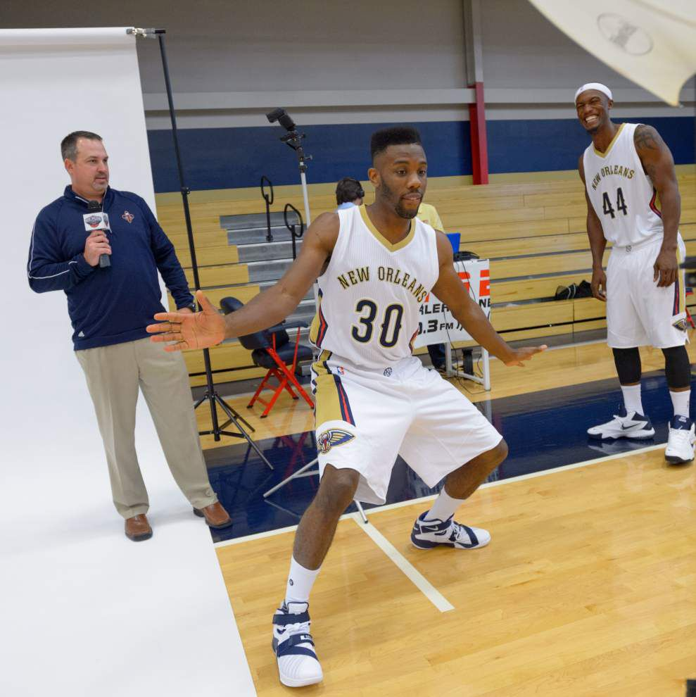 Pelicans seeking to take next step in NBA _lowres