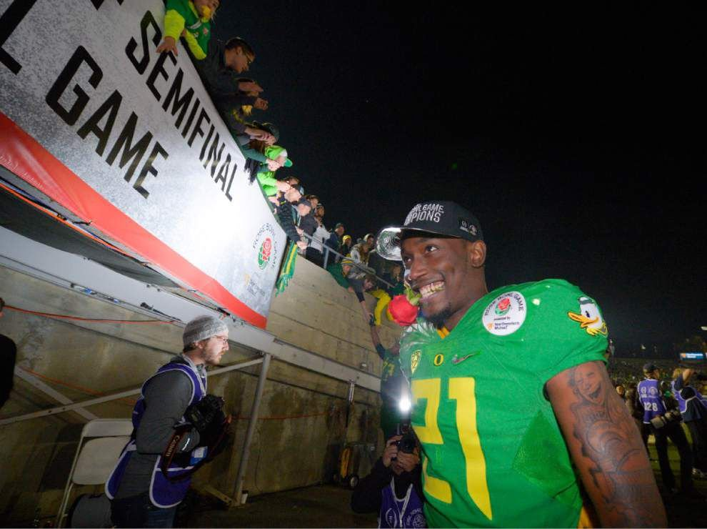 National Championship game between Oregon and Ohio State will have Rose Bowl feel _lowres