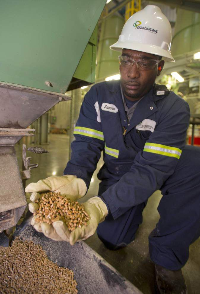 Power from pellets  Drax facilities boost timber industry in Louisiana and Mississippi, port in Baton Rouge _lowres