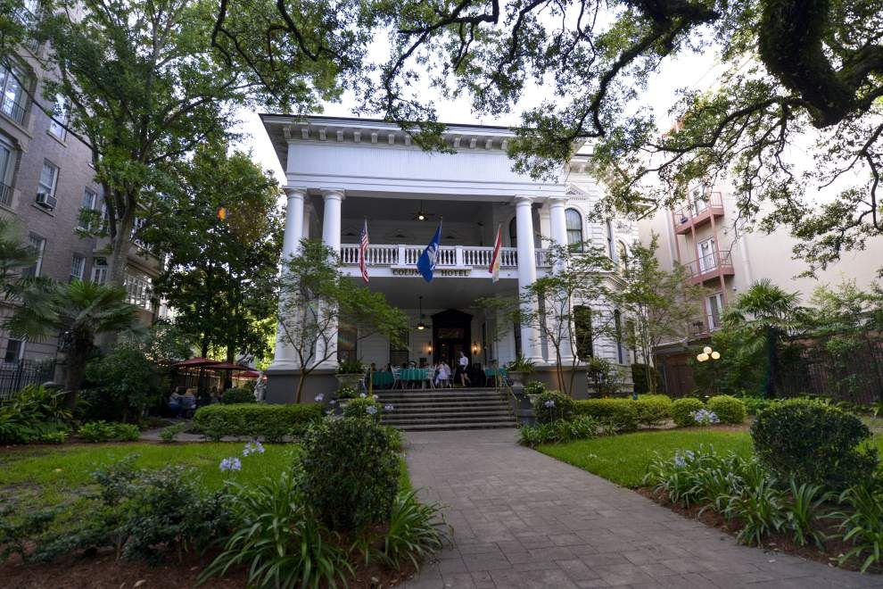 View from the gallery: Columns Hotel owners look back at 100 years on the avenue _lowres