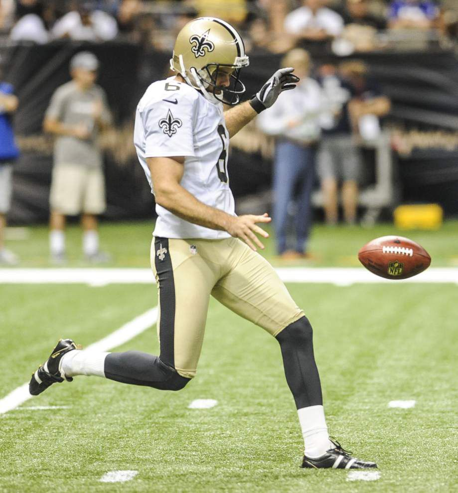 New Orleans Saints name punter Thomas Morstead their man of the year, nominate him for the league-wide honor _lowres